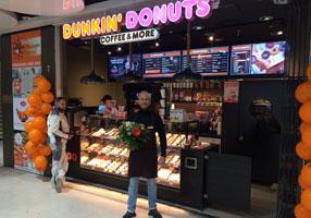 Neueröffnung Dunkin' Donuts