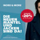 Outdoor- Aktion bei More & More: 20% Rabatt