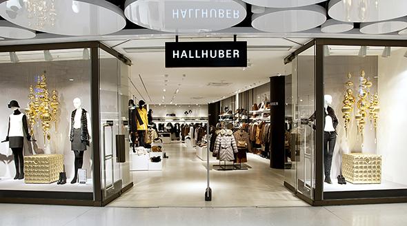 hallhuber shop in den stachus passagen. Black Bedroom Furniture Sets. Home Design Ideas